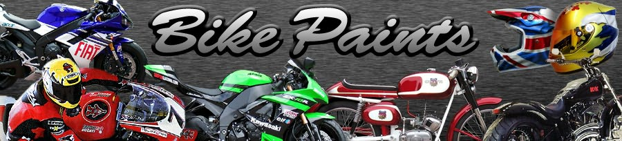 Bike Paints - motorcycle repair and painting Scotland